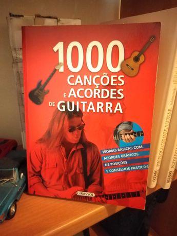 Livro acordes guitarra classica