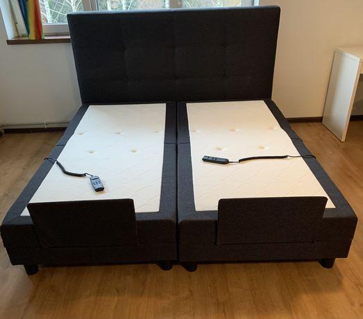Łóżko tapicerowane z elektrycznie