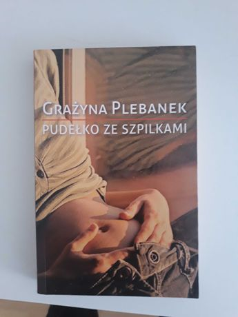 "Książka  ""Pudełko ze szpilkami"" G. Plebanek"