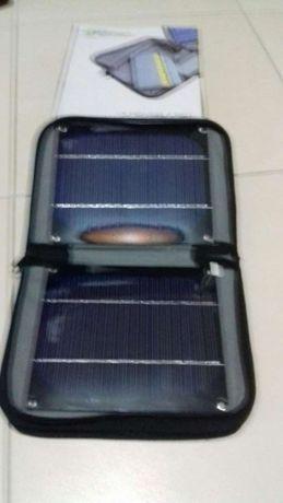 Carregador solar com pilhas carregar telemoveis