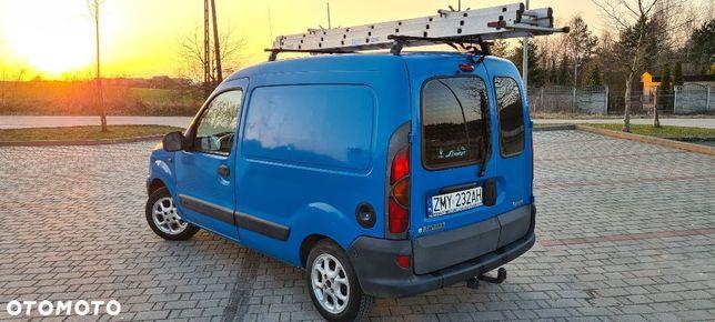 Renault Kangoo  Renault Kangoo 2003r OC+PRZEGLĄD_DO2022*Faktura_VAT1*ALUFELGI*BAGAŻNIK