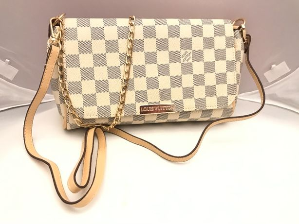 Torebka torba Louis Vuitton łańcuszek oraz pasek