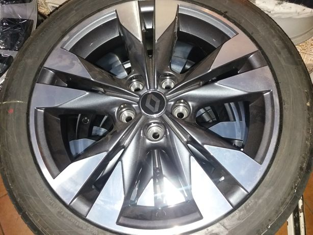 Jantes renault 17 pulegadas com pneus