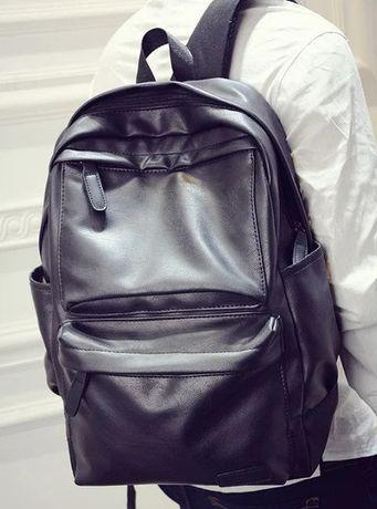Большой городской мужской рюкзак ПУ кожа/Доставка БЕСПЛАТНО! Купить!