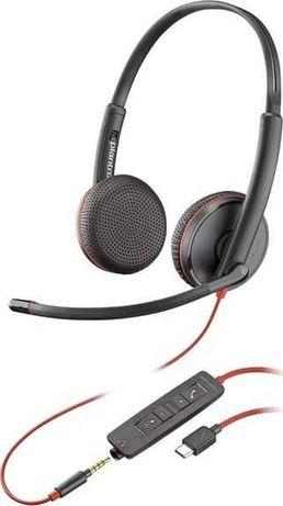 Nowe zapakowane słuchawki  Plantronics Blackwire C3225 USB-C / jack