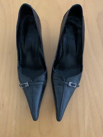 Sapato pele preto Prof
