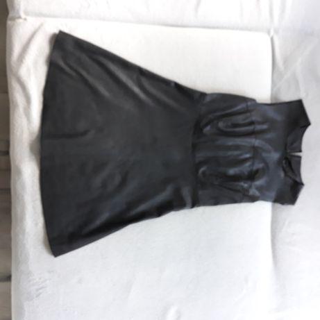 sukienka ze skóry naturalnej miękkiej M