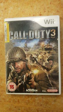 Konsola wii call of Duty 3 Wii konsola gra