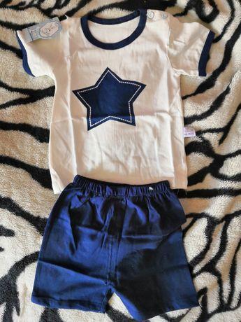 Koszulka i spodenki dla chłopca