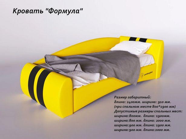 Кровать детская мягкая Формула Sentenzo 80 (90) (120)*200 (190)