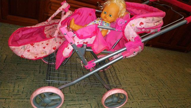 Коляска детская для куклы. В хорошем состоянии. Складывается. На улицу