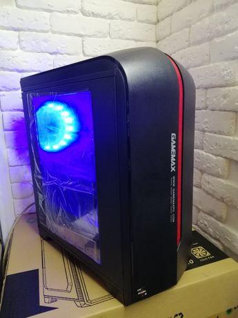 Новый игровой компьютер Ryzen 3 5 7 8gb ddr4 GTX1060 RX580 SSD120gb