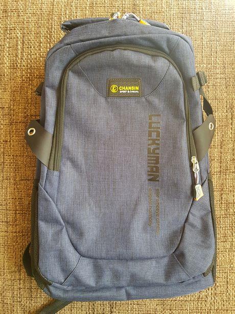 Plecak na laptopa sportowy szkolny Nowy