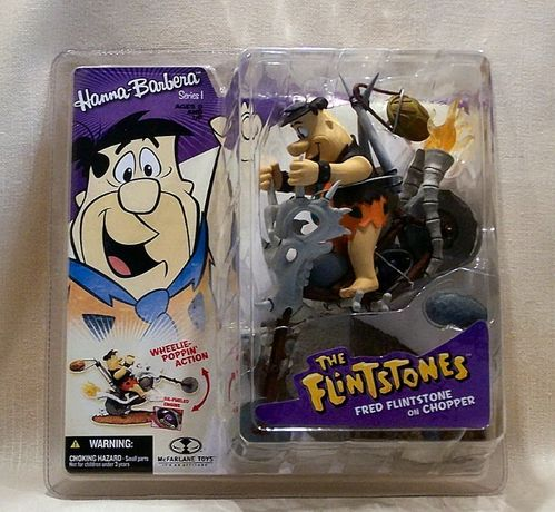 McFarlane Hanna-Barbera The Flintstones Fred on Chopper