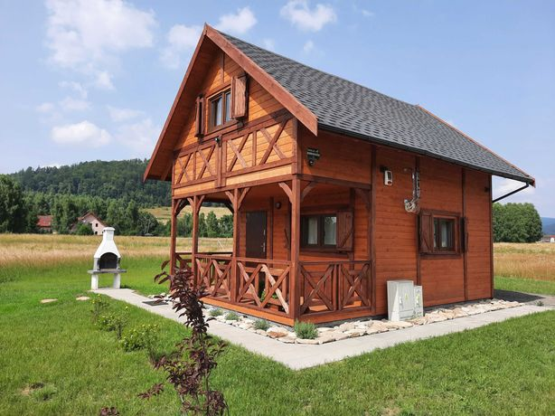Domek w górach koło Lądka-Zdroju