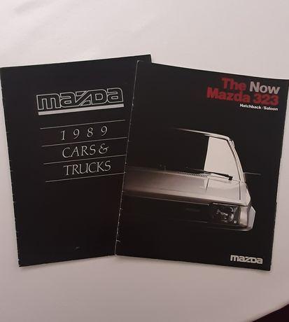 Prospekty samochodowe Mazda