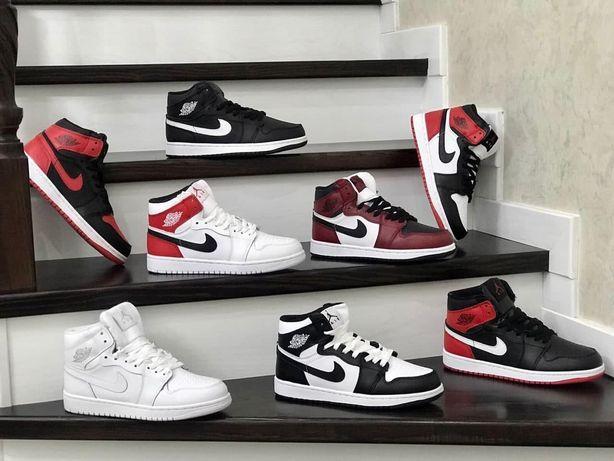 Nike Air Jordan 1 Retro. Зимнее з мехом