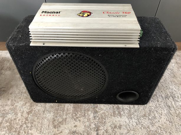 Wzmacniacz subwoofer magnat classic 360 4x140 watt