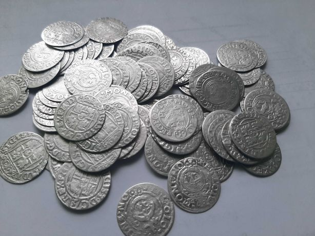 Monety Półtoraki Zygmunt III Waza