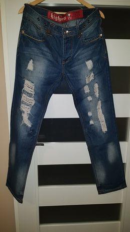 Spodnie jeans męskie a'la  Philipp Plein