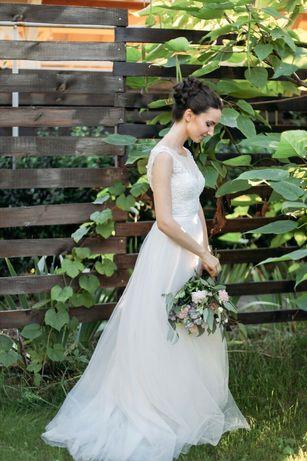 свадебное / выпускное платье маленького размера