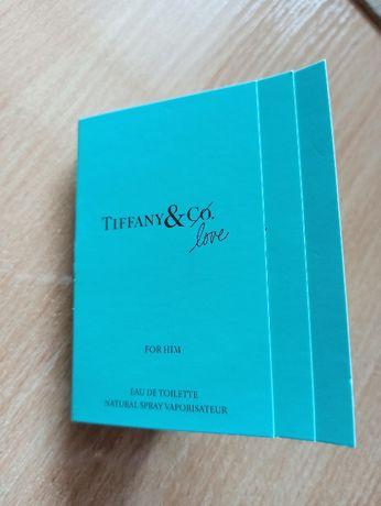 Пробник Тиффани для него Tiffany & Co Love For Him 1,2 мл