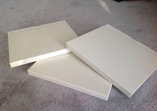Nowe półki IKEA MANDAL do szczytu łóżka, zagłówek 701.763.12 - białe