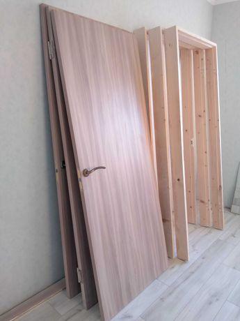 Нові двері міжкімнатні з коробкою та фурнітурою, двери межкомнатные