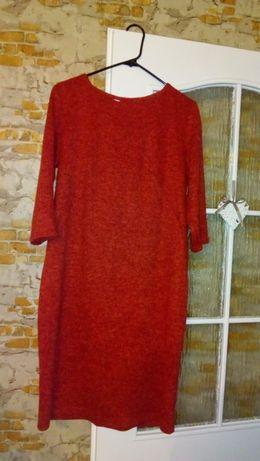 Sukienka czerwona 44 wieczorowa nowa