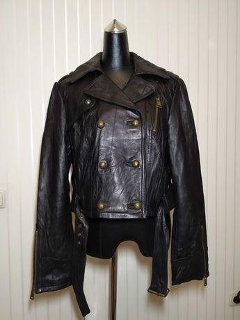 Женская кожаная куртка (Vintage)