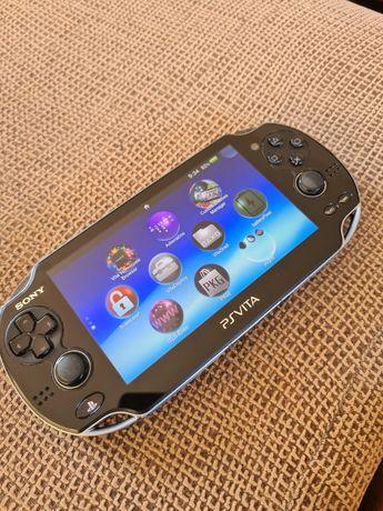 Consola portátil Playstation Ps Vita + cartão de 4Gb Desbloqueado