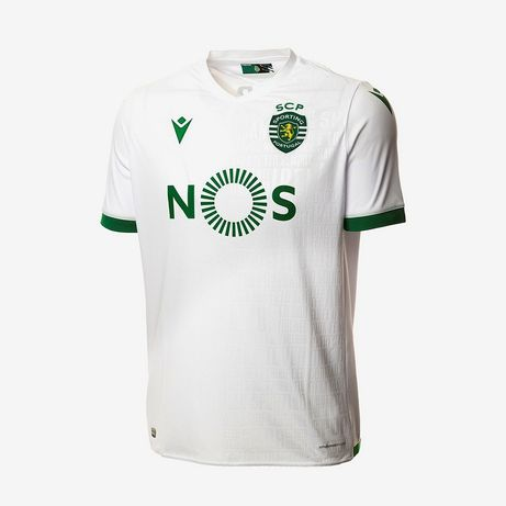 Camisola Sporting CP Listada, Branca ou Preta 20/21