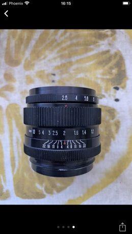 Продам объектив Вега-128 2.8