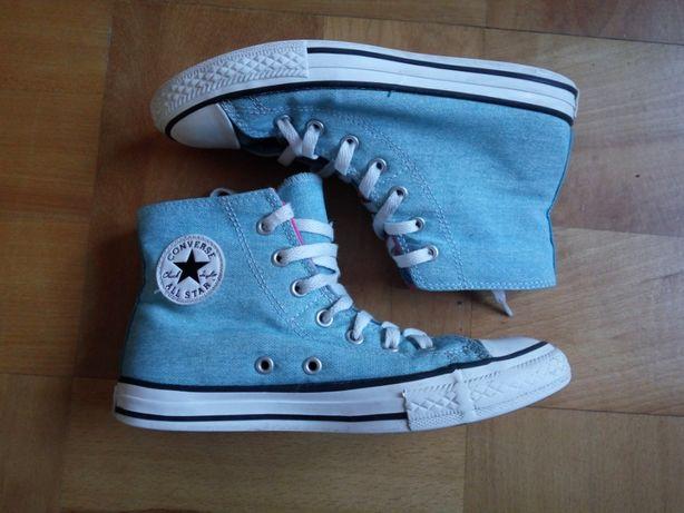 Niebieskie trampki Converse rozmiar 35