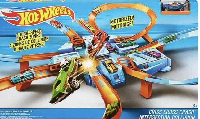 Hot Wheels Criss Cross Crash Track б/у