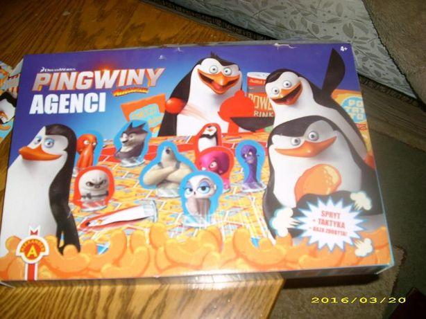 Gra Pingwiny Agenci