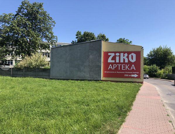 Powierzchnia reklamowa w centrum Dąbrowy Górniczej