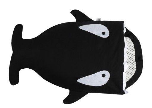 Śpiworek do spania Rekin Orka kolor czarny