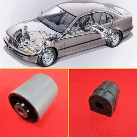 Сайлентблоки / Втулки на BMW 5 e 39 ( БМВ 5 е 39) с ГАРАНТИЕЙ
