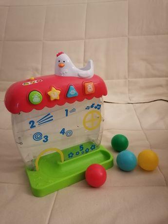 Zabawka interaktywna kurnik