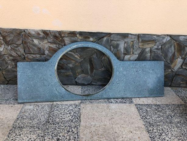 Vende-se pedra mármore verde água + lavatório indusa com torneira