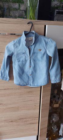 Zara koszula jeansowa 98