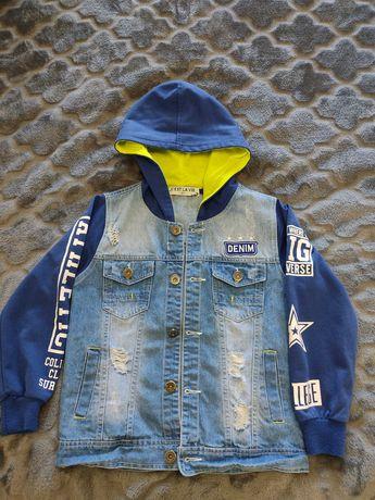 Джинсовый пиджак, ветровка для мальчика