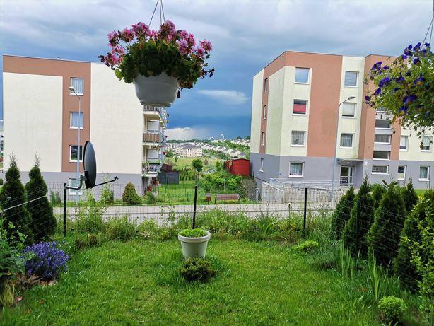 ZAMIENIĘ  2-pokojowe mieszkanie z ogródkiem - Jasień