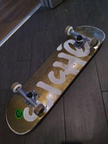 Скейт Комплит CLICHE HANDWRITTEN FP Gold/White 8.25 SP20