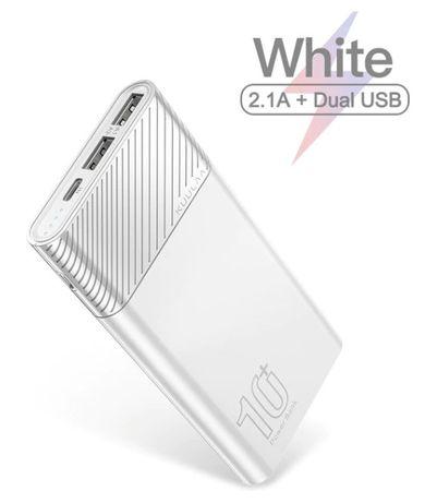 Power Bank KUULAA 10000 мАч (white)