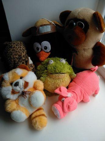 Мягкие игрушки цена за 8 штук