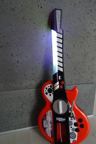 Gitara elektryczna SIMBA duża dziecięca grająca