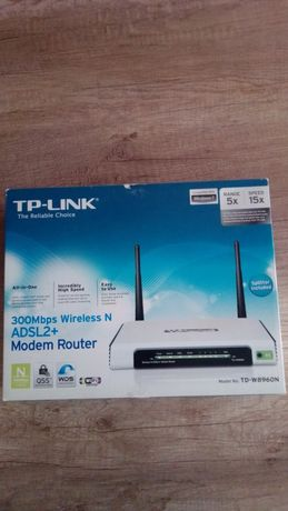 Router TP-LINK 300Mbps Wireless N ADSL2+ (TD-W8960NB)