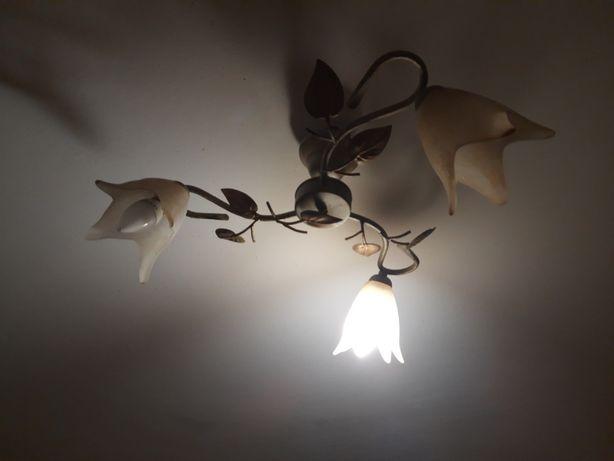 Lampa sufitowa, 3 żarówki